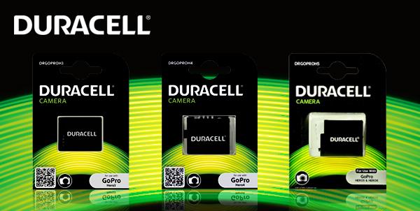 INFORMACJA PRASOWA: akumulatory do najnowszych GoPro od Duracell